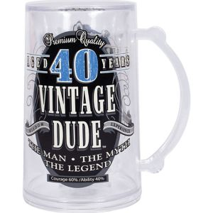 Vintage Dude 40th Birthday Mug