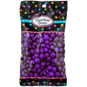 Purple Chocolate Drops 350pc