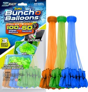 Blue, Green & Orange Bunch O Balloons 105ct
