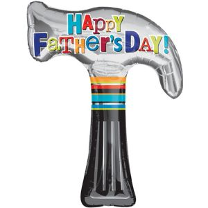 Father's Day Balloon - Hammer