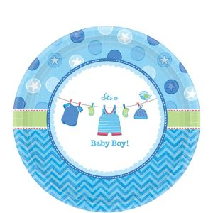 It's a Boy Baby Shower Dessert Plates 8ct