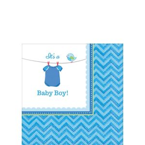 It's a Boy Baby Shower Beverage Napkins 16ct