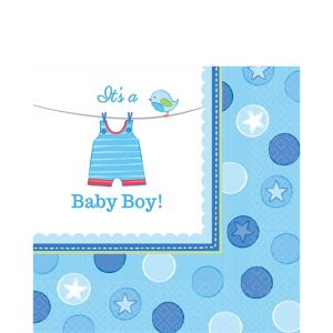 It's a Boy Baby Shower Lunch Napkins 16ct