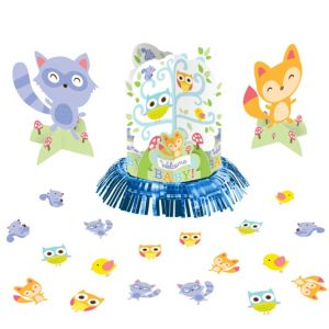 Woodland Baby Shower Table Decorating Kit 23pc