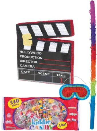 Movie Scene Marker Pinata Kit