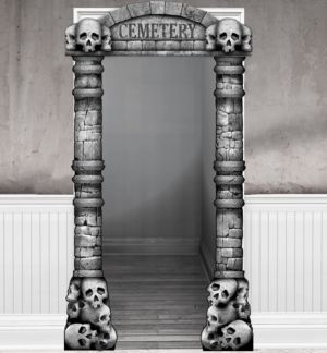 Cemetery Doorframe Decoration Deluxe