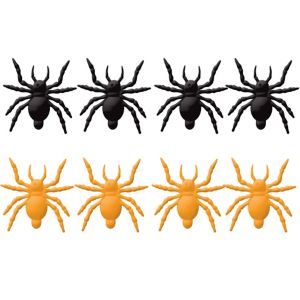 Orange & Black Jumping Spiders 8ct