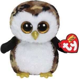 Owliver Beanie Boo Owl Plush