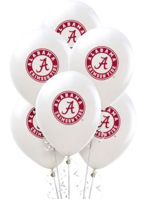Alabama Crimson Tide Balloons 10ct