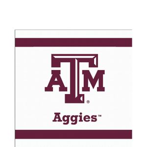 Texas A&M Aggies Lunch Napkins 20ct