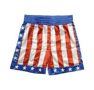 Apollo Creed American Flag Shorts - Rocky