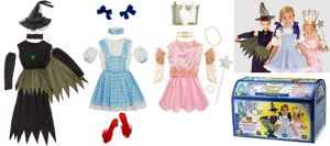 Child Wizard of Oz Costume Trunk 28pc