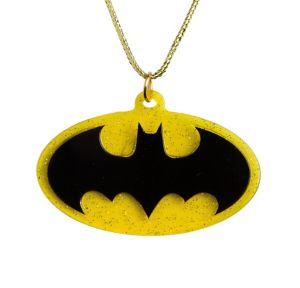Batgirl Pendant Necklace