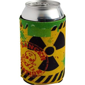 Danger Radiation Can Coozie