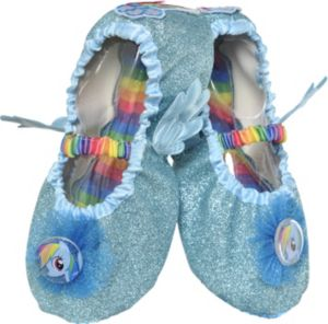 Child Rainbow Dash Slipper Shoes - My Little Pony