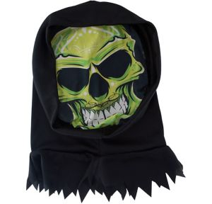 Hooded Alien Skeleton Mask