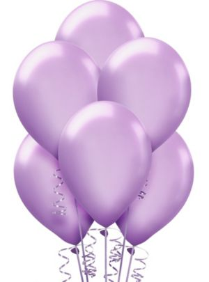 Lavender Pearl Balloons 15ct