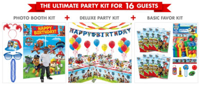 PAW Patrol Party Supplies Ultimate Party Kit