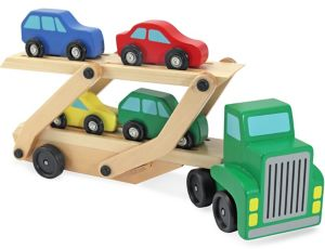 Car Carrier Truck & Cars Playset 6pc