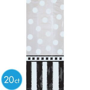 Black & White Treat Bags 20ct
