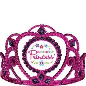 Purple & Teal Pastel Birthday Princess Tiara