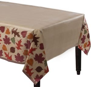 Autumn Traditions Fall Table Cover
