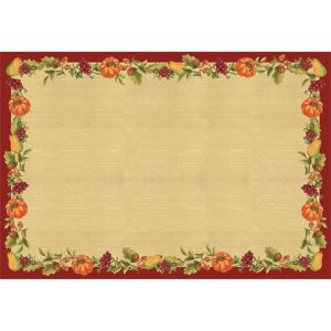 Thanksgiving Paper Placemats 24ct