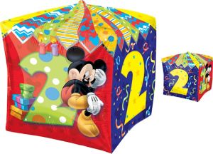 2nd Birthday Mickey Mouse Balloon - Cubez