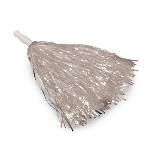 Silver Pom-Pom