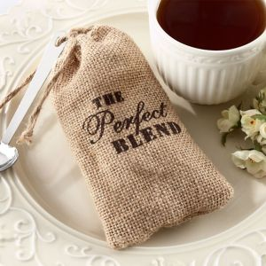The Perfect Blend Burlap Favor Bags