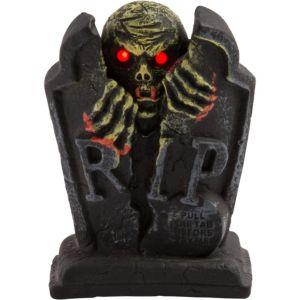 Mini Light-Up Screaming Tombstone