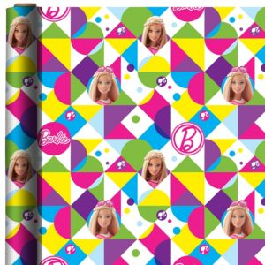 Sparkle Barbie Gift Wrap