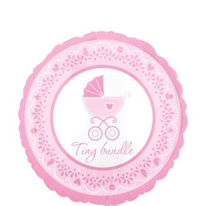Girl Baby Shower Balloon - Celebrate
