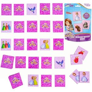 Sofia the First Memory Match Game Bag