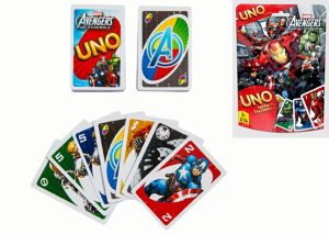 Avengers UNO Game Bag