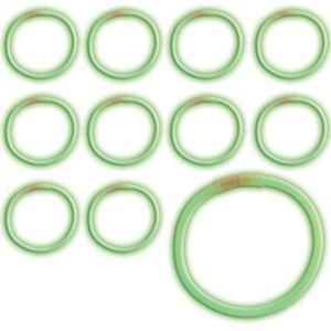 Green Glow Bracelets 36ct