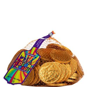 Gold Chocolate Coins 72pc