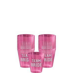 Team Bride Shot Glasses 40ct