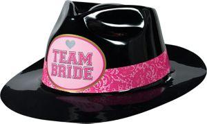 Team Bride Plastic Fedora