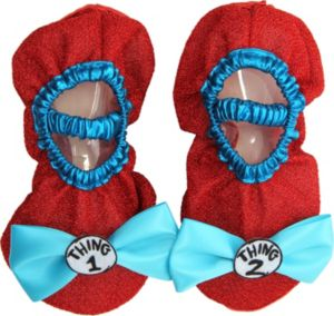 Child Thing 1 & Thing 2 Shoe Covers - Dr. Seuss