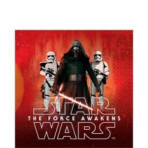 Star Wars 7 The Force Awakens Lunch Napkins 16ct