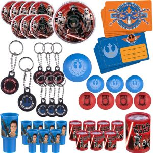 Star Wars 7 The Force Awakens Favor Pack 48pc