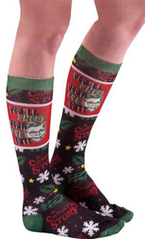A Christmas Story Knee-High Socks