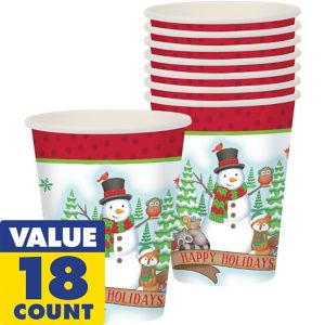 Winter Friends Cups 18ct