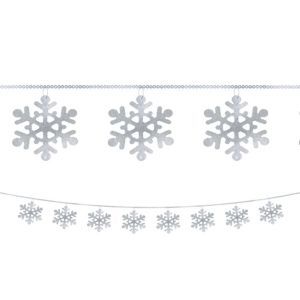 Snowflake String Garland