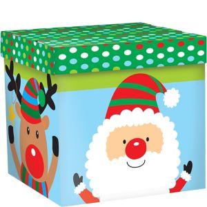 Whimsical Christmas Characters Gift Box
