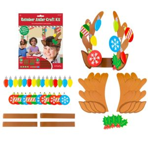 Reindeer Antler Craft Kit for 4