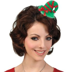 Mini Elf Hat Hair Clip