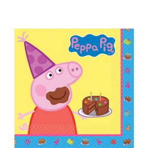 Peppa Pig Lunch Napkins 16ct