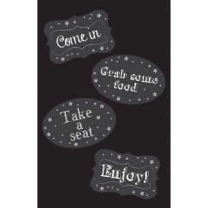 Chalkboard Door Decoration